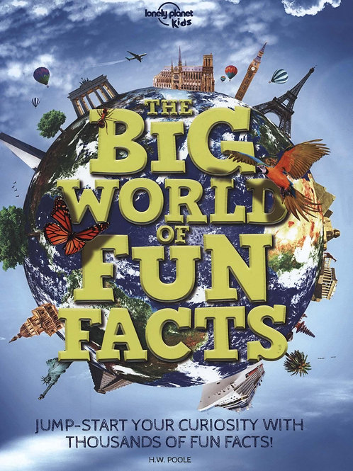 Big World Of Fun Facts Planet Kids Lonely