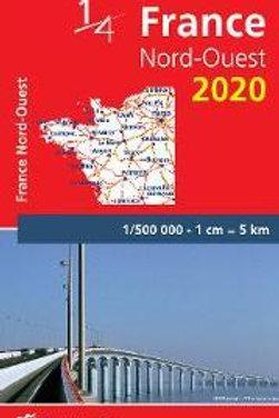 Northwestern France - Michelin National Map 706  N\A