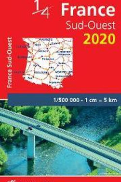 Southwestern France - Michelin National Map 708  N\A