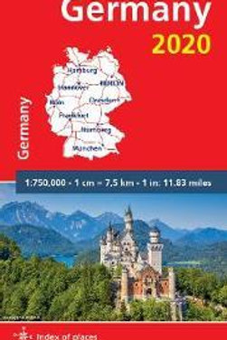Germany 2020 - Michelin National Map 718  N\A