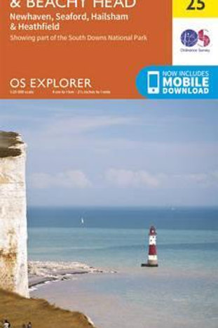 EXP OL25 Eastbourne & Beachy Head  ,