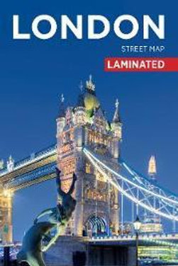 London Citymap�Laminated�  ,