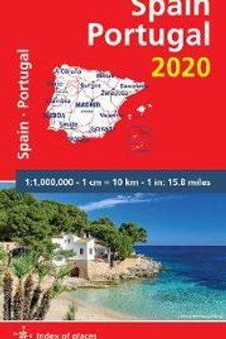 Spain & Portugal 2020 - Michelin National Map 734  N\A