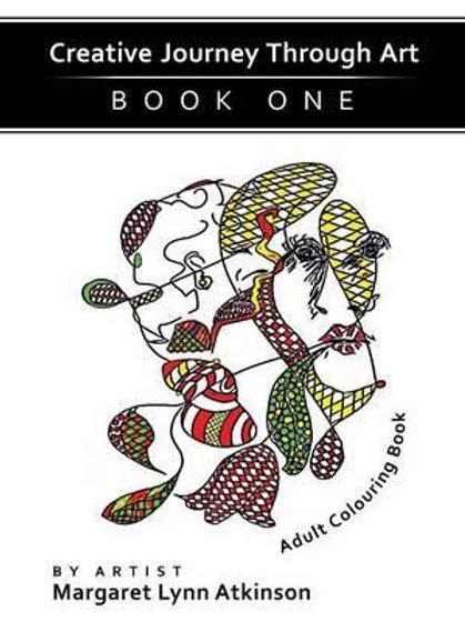 Creative Journey Through Art - Adult Colouring Book Margaret Lynn Atkinson