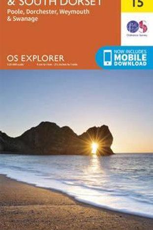 EXP OL15 Purbeck & South Dorset Poole  ,