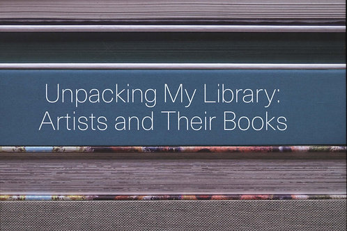 Unpacking My Library Artists Their Books Jo Steffens