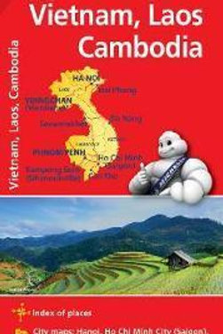 Vietnam Laos Cambodia - Michelin National Map 770  N\A