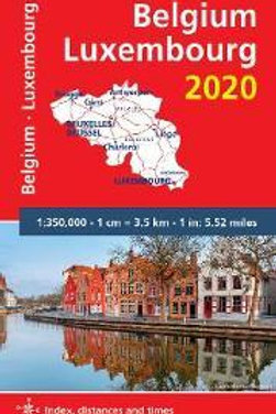 Belgium & Luxembourg 2020 - Michelin National Map 716  N\A