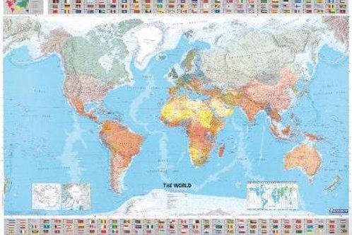 World Michelin Map 12701 SHEET MAP  ,