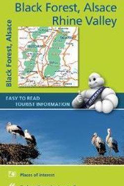 Black Forest Alsace Rhine Valley  Michelin