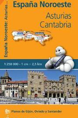 Asturias Cantabria REGIONAL Map 572  ,
