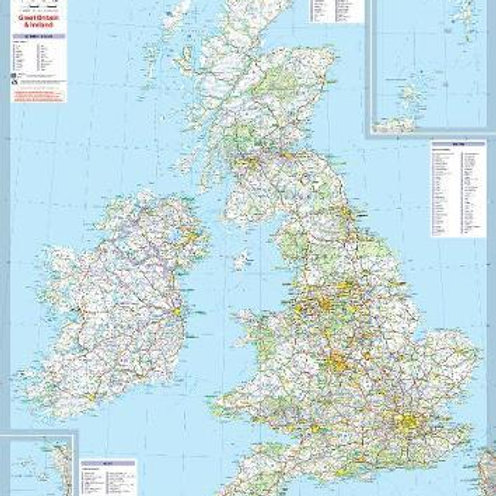 Gt Brit & Ireland Mich Map 5713 LAM  ,