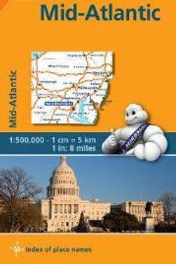 Midatlantic, Allegheny Highlands - Michelin Regional Map 582  N\A