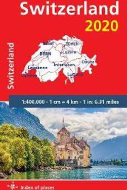 Switzerland 2020 - Michelin National Map 729  N\A