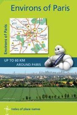 Environs De Paris  Michelin