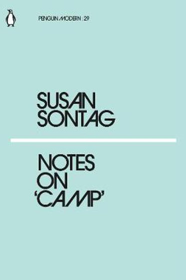 Notes On Camp Susan Sontag