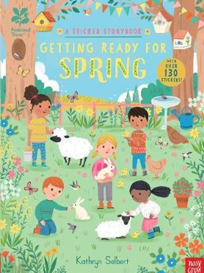 National Trust: Getting Ready for Spring, A Sticker Storyboo Kathryn Selbert