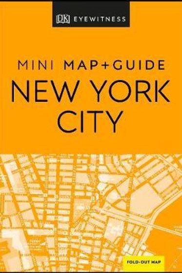 DK Eyewitness New York City Mini Map and Guide Eyewitness DK