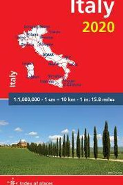 Italy 2020 - Michelin National Map 735  N\A