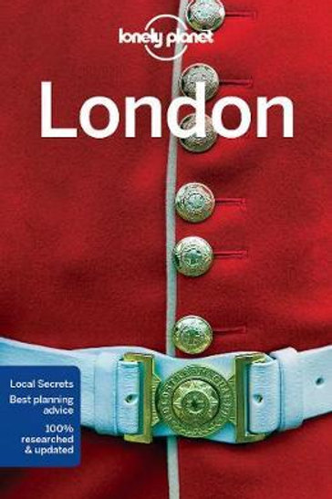 London Lonely Planet Guide  ,