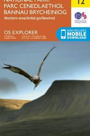 EXP OL12 Brecon Beacons National Park We  ,
