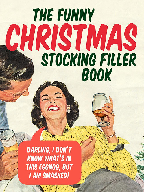 Funny Christmas Stocking Filler Book  N\A