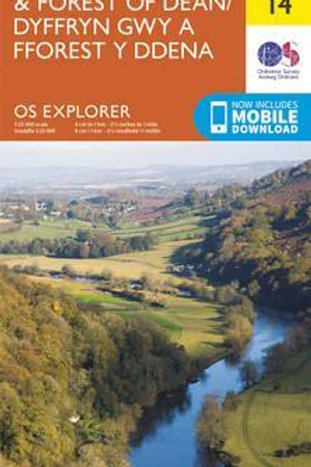 EXP OL14 Wye Valley & Forest Of Dean  ,