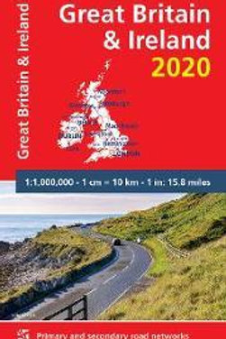 Great Britain & Ireland 2020 - Michelin National Map 713  N\A