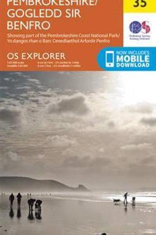 EXP OL35 North Pembrokeshire  ,