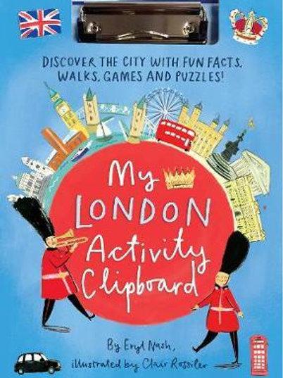 My London Activity Clipboard Eryl Nash