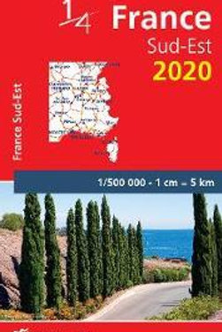 Southeastern France - Michelin National Map 709  N\A