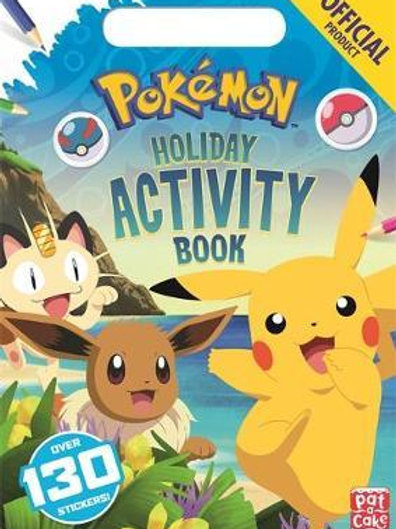 The Official Pokemon Holiday Activity Book  Pokemon
