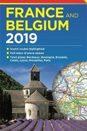 Philip's Road Map France and Belgium  ,