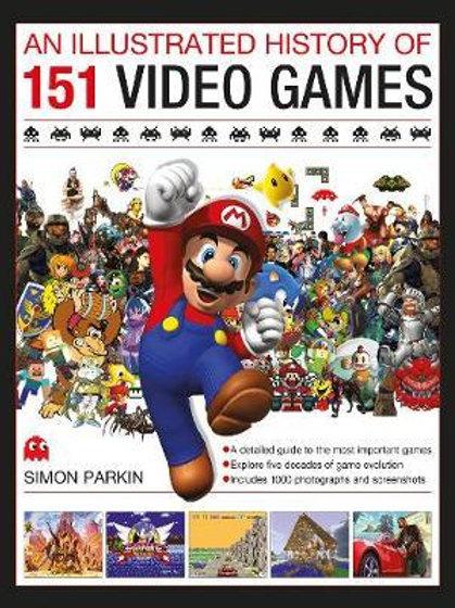 Illust History Of 151 Video Games Simon Parkin