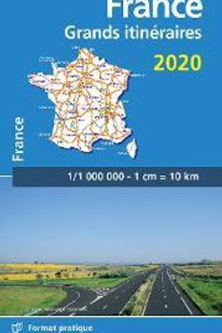 France Route Planning 2020 - Michelin National Map 726  N\A