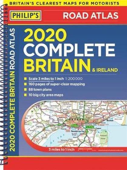 Philips Complete Rd Atlas Britain & Irel  ,