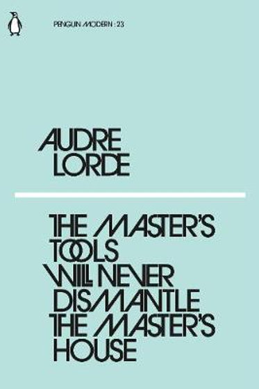 Master's Tools Will Never Dismantle The Audre Lorde