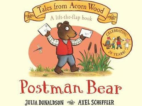 Postman Bear: 20th Anniversary Edition Julia Donaldson