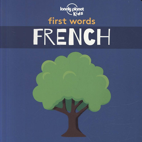 First Words French Board Book 1  ,