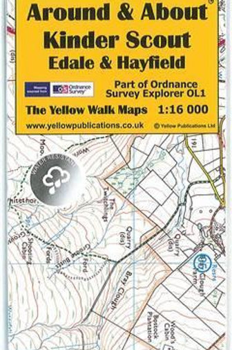Around and About Map: Kinder Scout, Edale and Hayfield  N\A