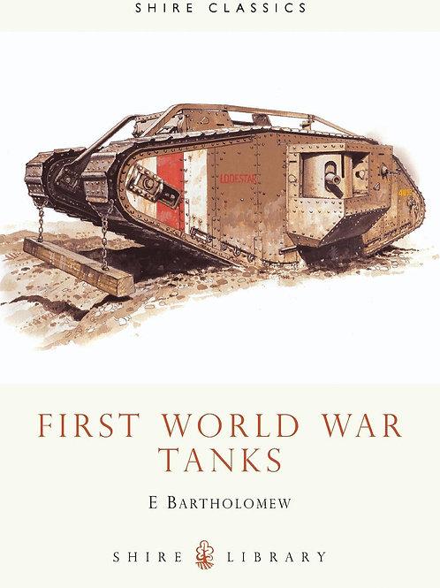 SLI:172 First World War Tanks E Bartholomew