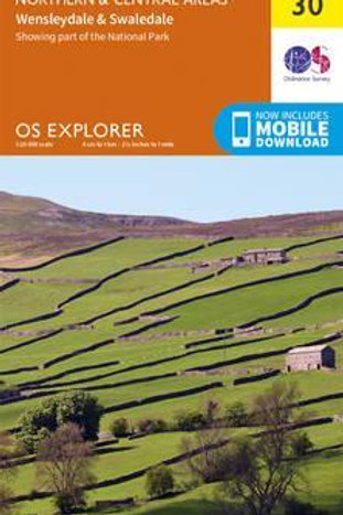 OL30 Yorkshire Dales Northern & Central  ,