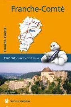 Franche-Comte - Michelin Regional Map 520  N\A
