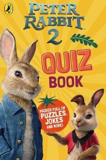 Peter Rabbit Movie 2 Quiz Book  N\A