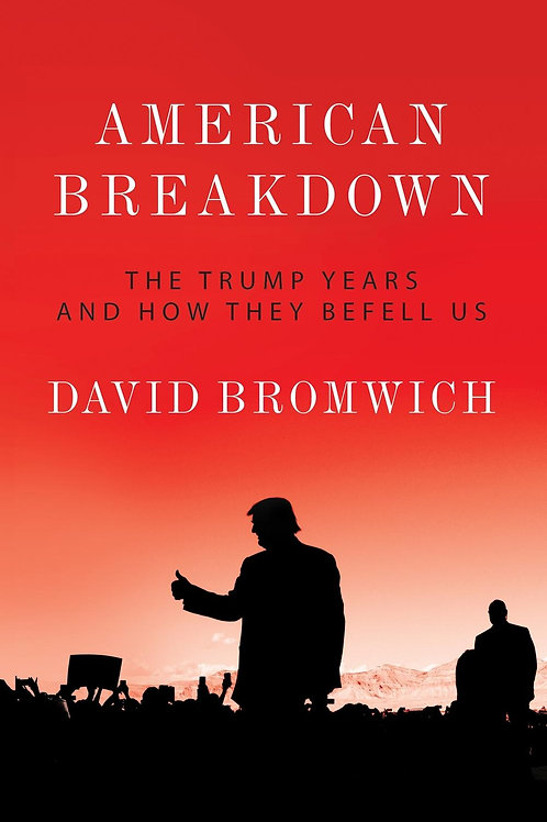 American Breakdown: The Trump Years and How They Befell Us David Bromwich