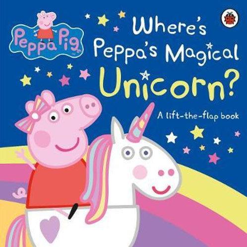 Peppa Pig: Where's Peppa's Magical Unicorn?: A Lift-the-Flap Book Pig Peppa