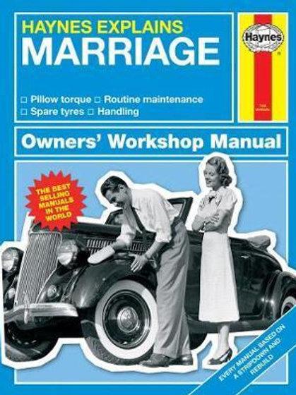 Haynes Explains Marriage. Owners Worksho Boris Starling