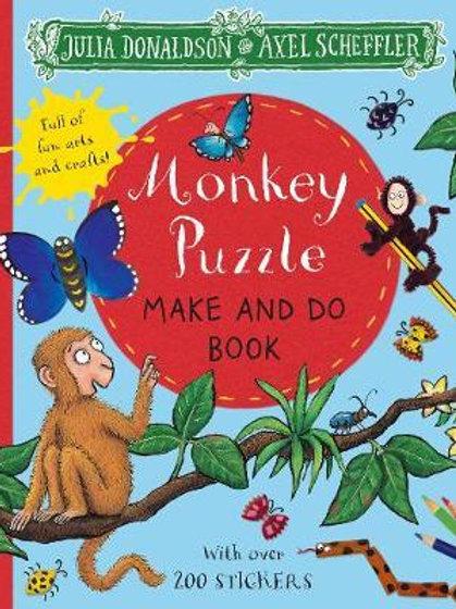 Monkey Puzzle Make and Do Book Julia Donaldson