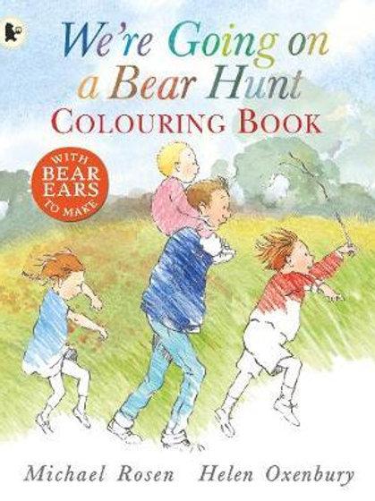 We're Going On A Bear Hunt Colouring Bk Michael Rosen