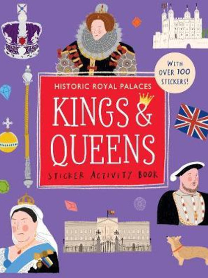 Kings and Queens Sticker Activity Book  N\A
